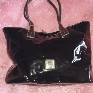 Dooney & Bourke Leather Patented Large Purse
